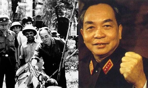 Le général GIAP, vainqueur de Diên Biên Phu. © Vietnam Pictures
