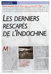« Les Derniers Rescapés d'Indochine » (1) - Le Nouvel Observateur - 7/13 octobre 2010