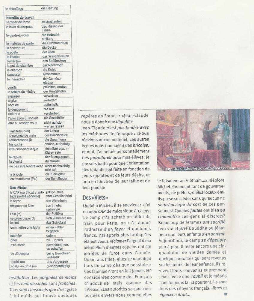 Reportage au CAFI par Arnaud GALY (4) - Juillet 2004
