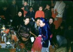 Célébration du premier Têt hors du pays à la pagode.