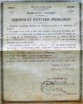 Certif. d'études primaires