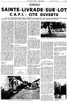 CAFI : cité ouverte - Chez Nous du 12 juillet 1991