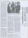 « Je comprends vos interrogations » - Sud-Ouest du 3 novembre 2004