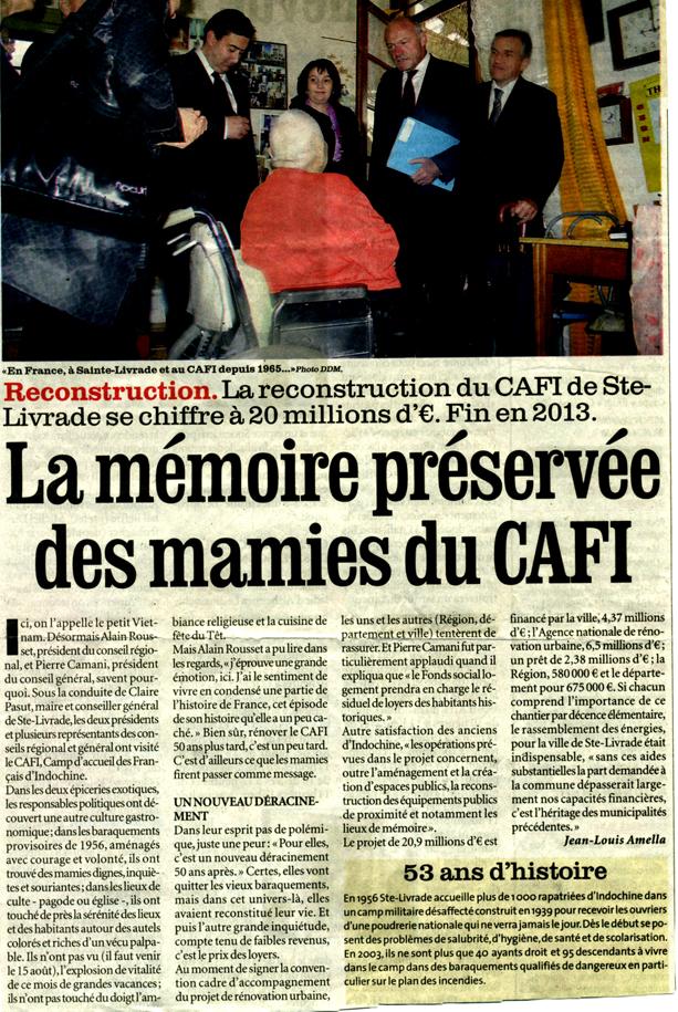 La mémoire préservée des mamies du CAFI - Sud-Ouest