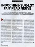 «Indochine-sur-Lot fait peau neuve» - Le Monde Magazine - 16 avril 2011 (1)