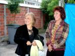 Colette Barat à droite