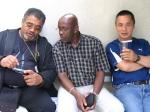 Jean Alfred, Raymond Maille, Bernard Gervais