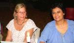 M.-F. Casabianca et Marie Sinnouretty