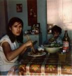 Patricia Christiane et le fils de J.-L. Bauquesne