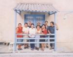 Devant, R. Lamy, M. Bui, H. Mutos, les 2 sœurs Balloux, J. Lamy. Derrière, ???, P. Lamy, Huy Nguyen