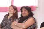 Aline Claverie et Nina Douart-Sinnouretty