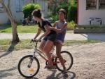 Gamines à vélo