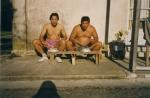 « Sumo » Zoun en train de manger