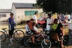 Les jeunes en vélo au CAFI