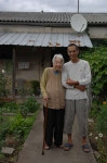 Patou Le Crenn avec sa grand-mère