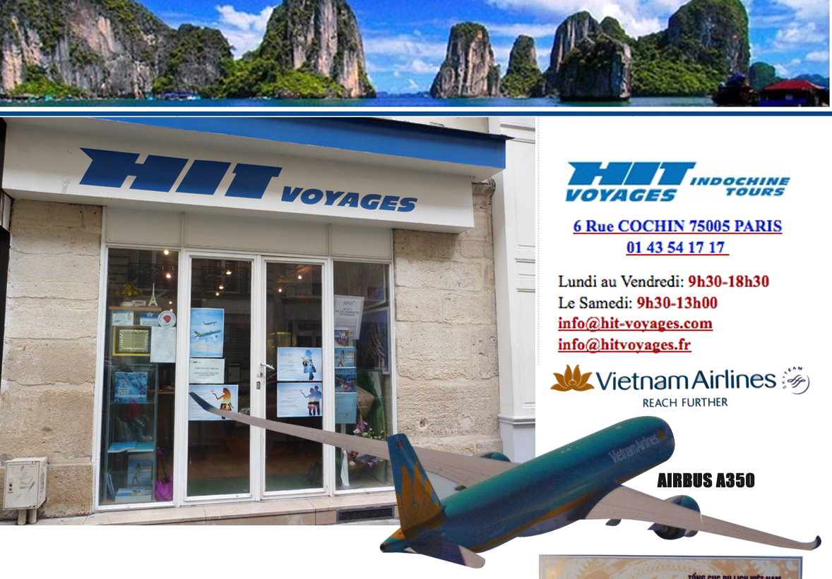 1 Hit Voyages. Voyage au Vietnam – Laos – Cambodge Agence spécialisée dans les voyages pour l'Asie